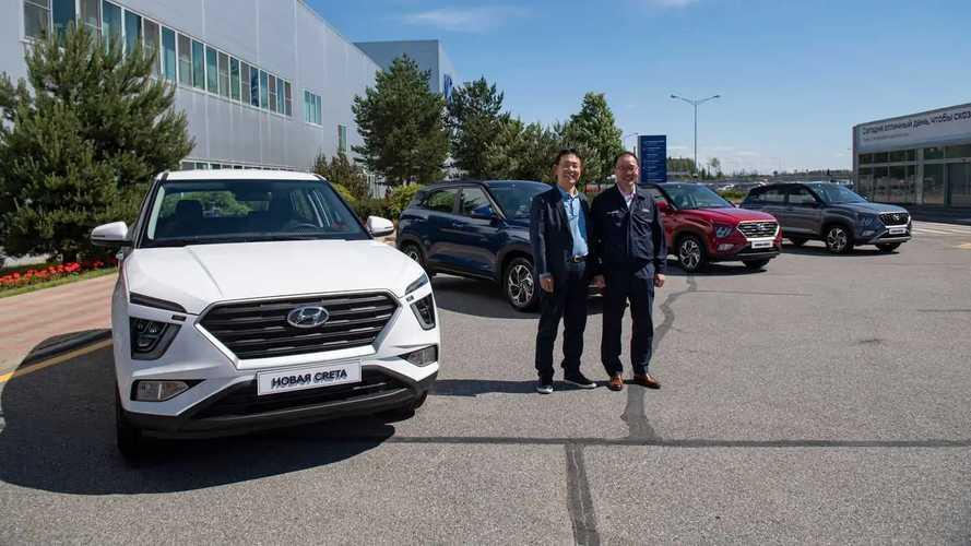 Hyundai Creta второго поколения для России