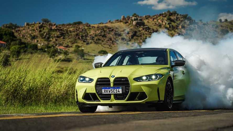 Primeiras impressões BMW M3 Competition Track: Horas de diversão
