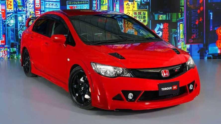 Bu Honda Civic'ten dünyada sadece 300 adet var!