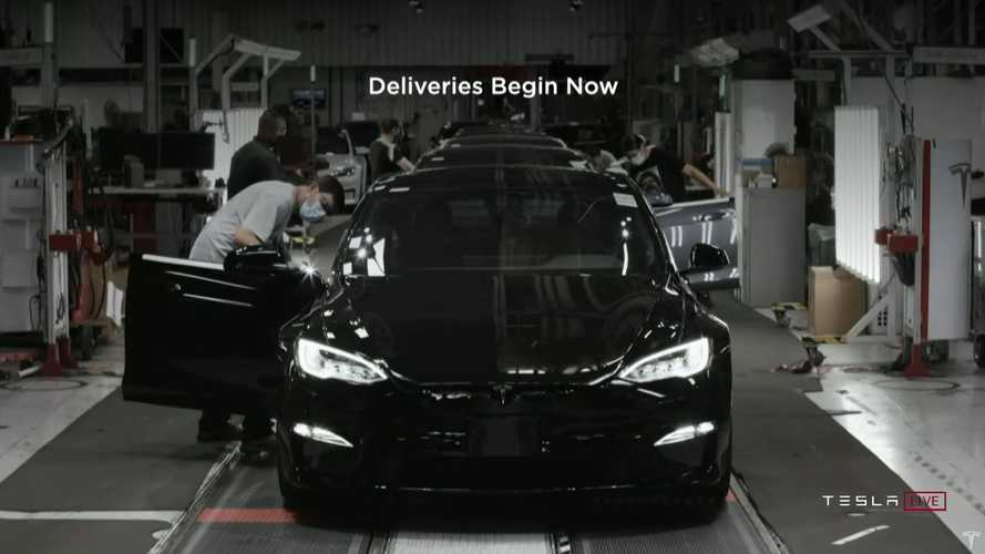 Tesla Model S Plaid deliveries are underway at the Fremont factory