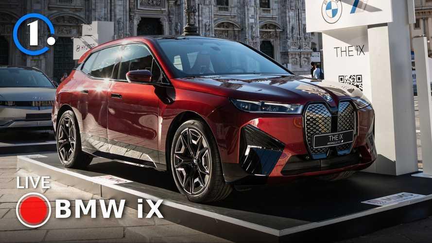 BMW iX, 500 CV elettrici pronti a partire! Video