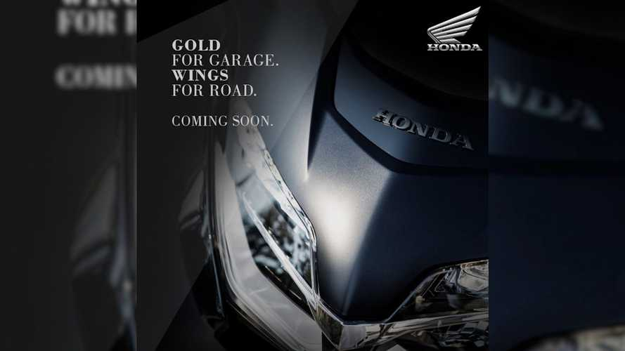 Honda India Teases BS6-Compliant Gold Wing Ahead Of Launch