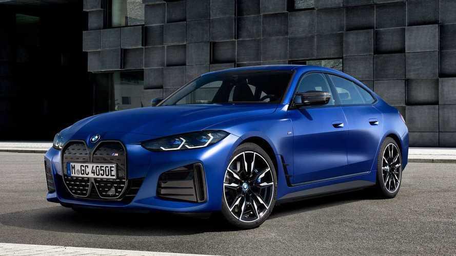 BMW i4 M50 é o primeiro elétrico da linha esportiva M; veja fotos