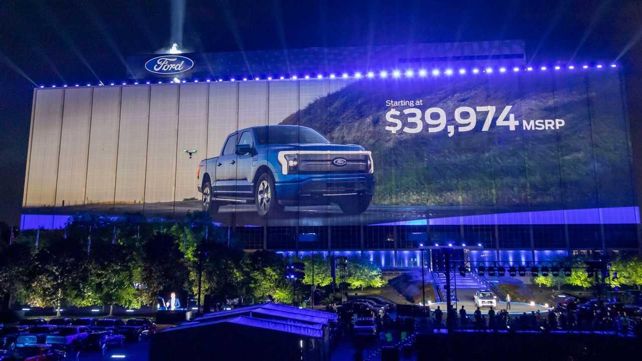2022 Ford F-150 Lightning Pricing Easter Egg