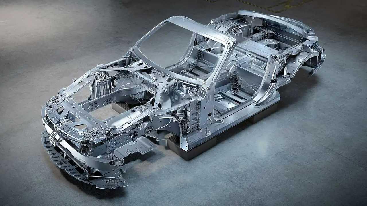 Nuova Mercedes-AMG SL, il telaio