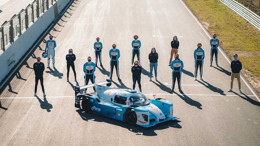 Ecco l'auto a idrogeno da corsa più veloce del mondo