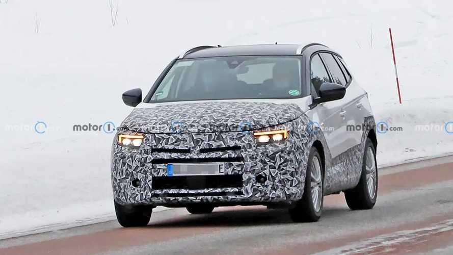 Opel Grandland X 2021, fotos espía del restyling