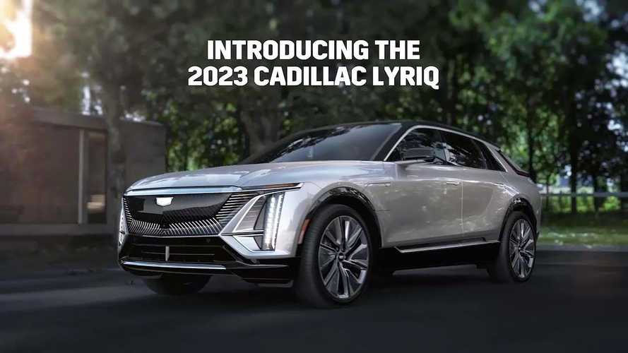 Check Out The Cadillac Lyriq's Features And Track Testing Footage