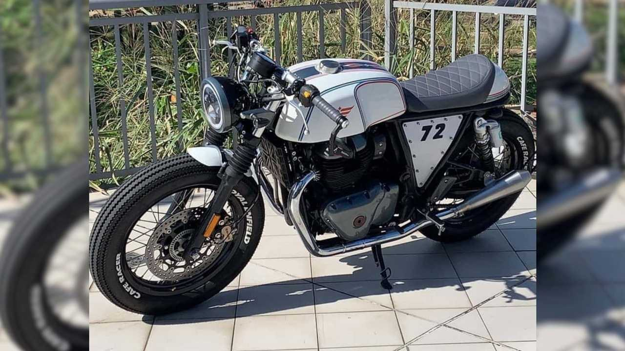 Custom Royal Enfield Continental GT Puts The Racer In Cafe Racer