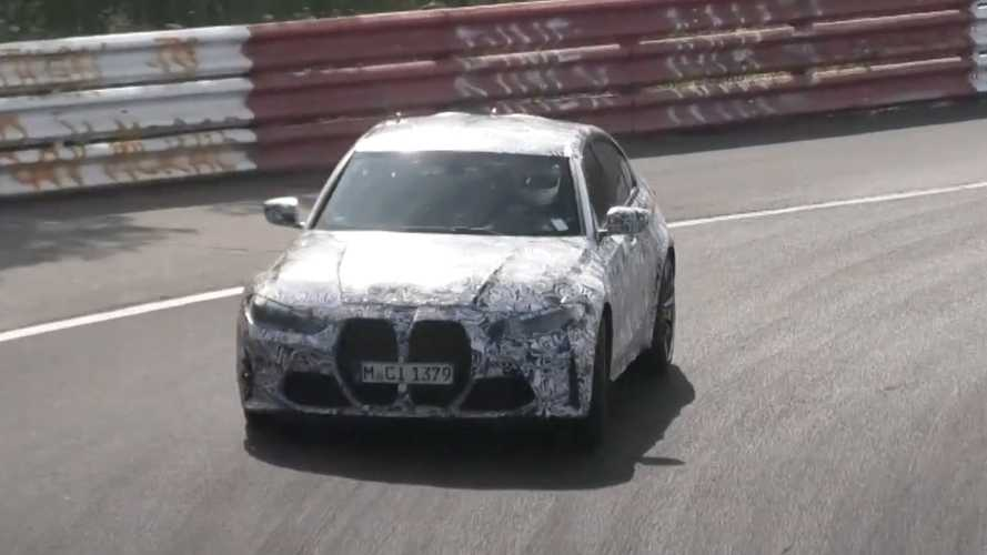 New BMW M3 CS sheds a bit of camo in recent Nurburgring spy video