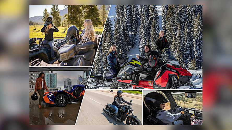 Polaris Is Supporting International Female Ride Day In 2021
