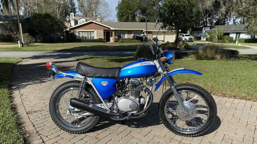 This 1969 Honda SL350 K0 Dual-Sport Is Ready For Duty