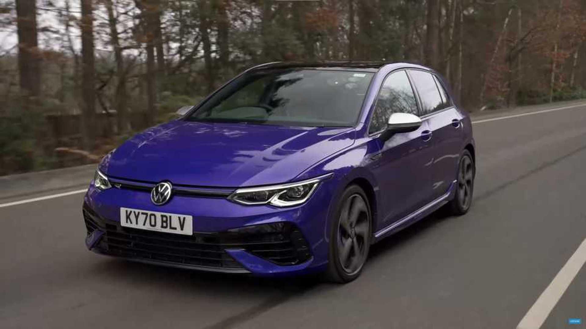 Смотрите, как новый VW Golf R разгоняется до 60 миль в час за четыре секунды
