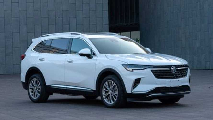 Three-Row Buick Envision GX Leaks In China Ahead Of Official Debut
