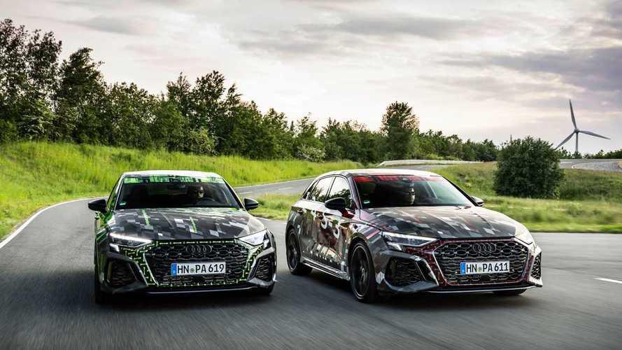 El nuevo Audi RS 3 estrenará el diferencial RS Torque Splitter