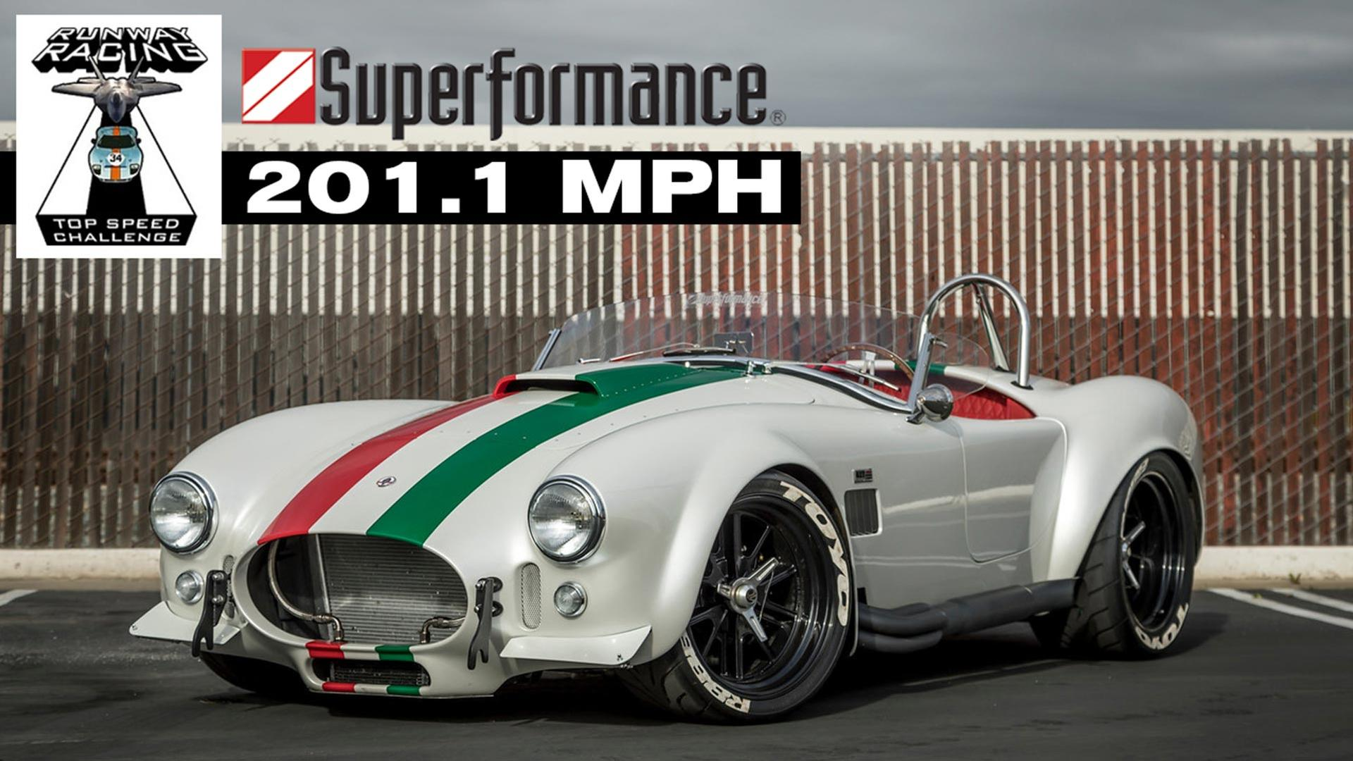 Superformance S Cobra Is The Fastest Ever Hitting 201 Mph