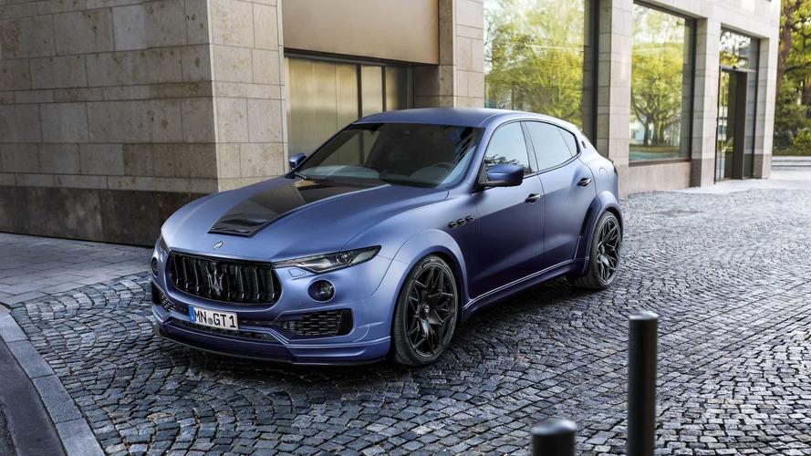 A Maserati Levante is megkapta a maga Novitec kezelését