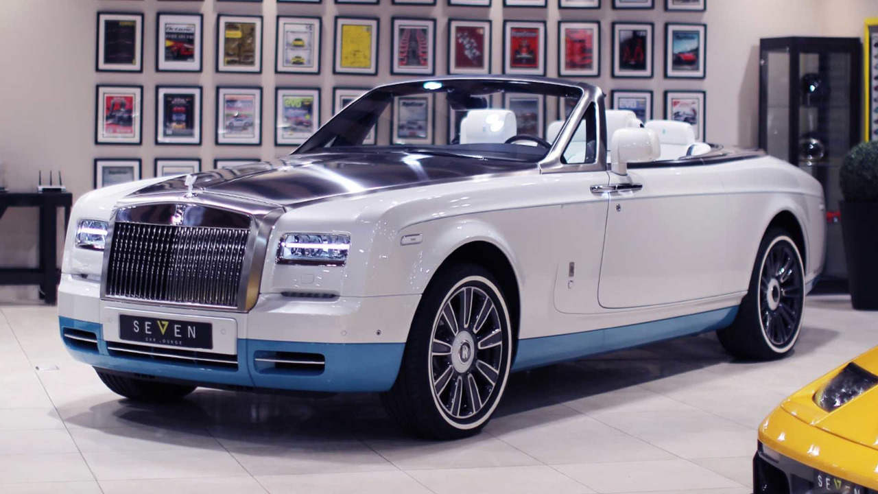 Final Rolls-Royce Phantom Drophead Coupe Opens Up One Last