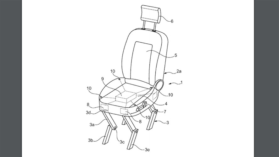 Ford Walking Chair Patent
