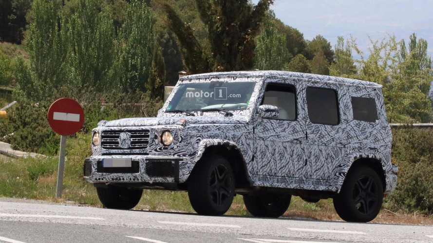 2019 Mercedes-AMG G63 spy shots