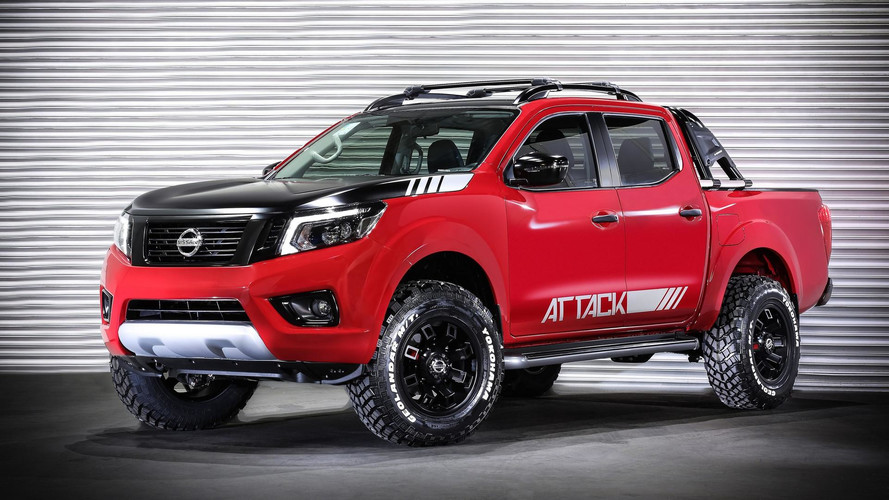 Custom Nissan Frontier >> Nissan Frontier Attack Concept Shows Extra Off Road Prowess