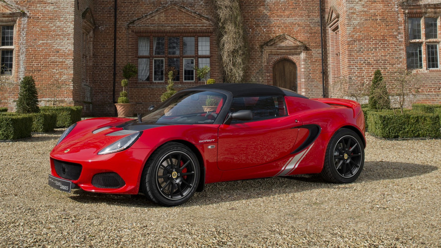 Lotus Elise Sprint shaves off even more fat thanks to carbon fiber