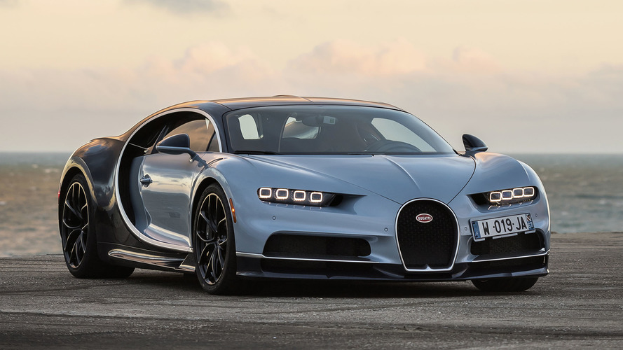 Bugatti convoca todas as unidades do Chiron por problema no banco