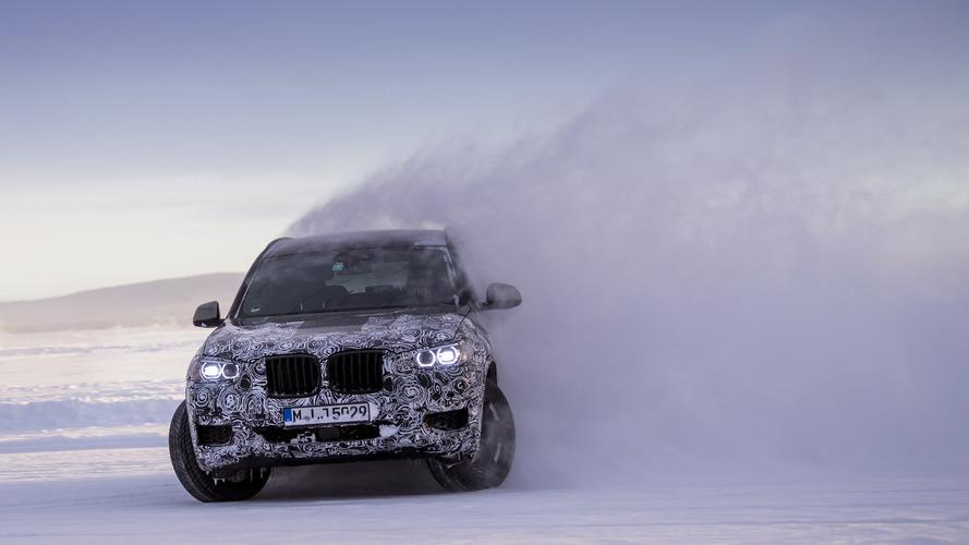 El BMW X3 2017 se desata entre hielo y nieve