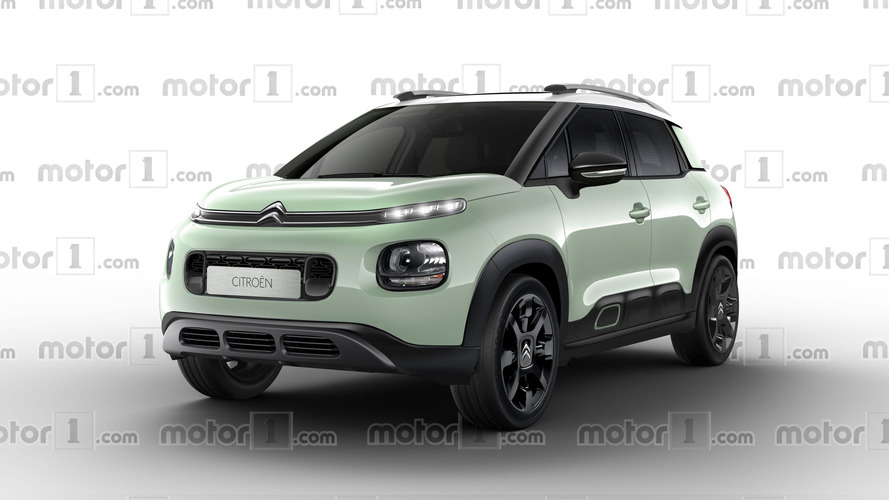 Will The Citroen C3 Aircross Look Like This?