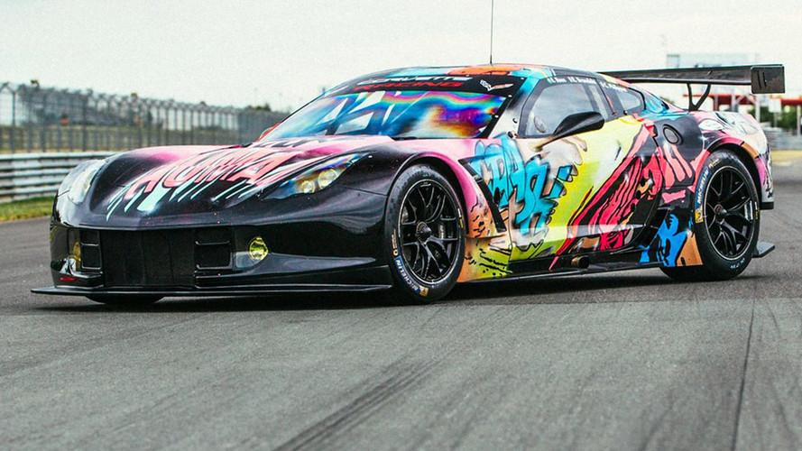 Radical Corvette Art Car Revealed For Le Mans
