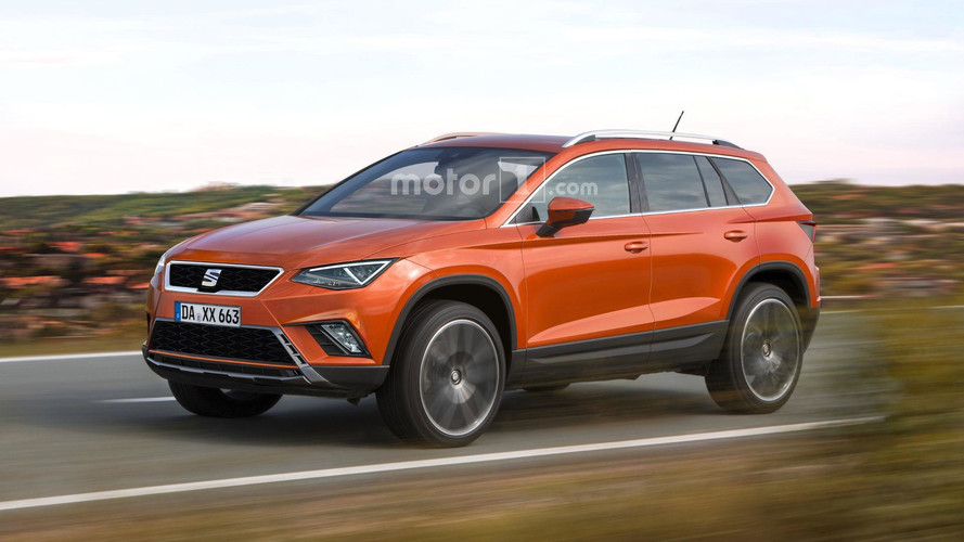 SEAT's Third SUV Could Look Like This
