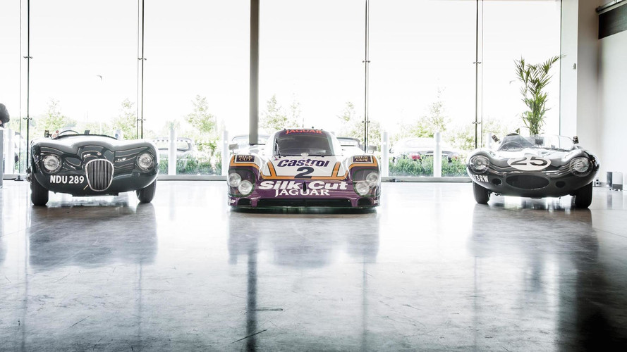 Jaguar Puts Le Mans Legends On Display At New Works Facility