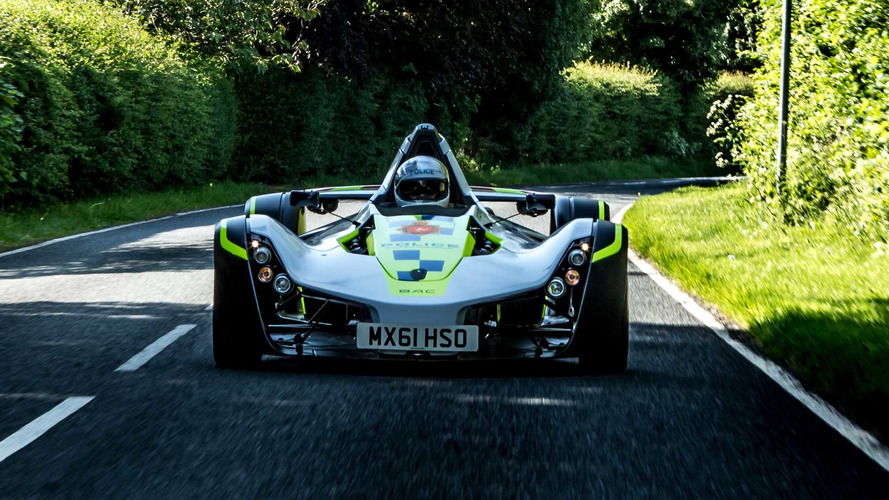 First BAC Mono Police Car Assigned To Isle Of Man