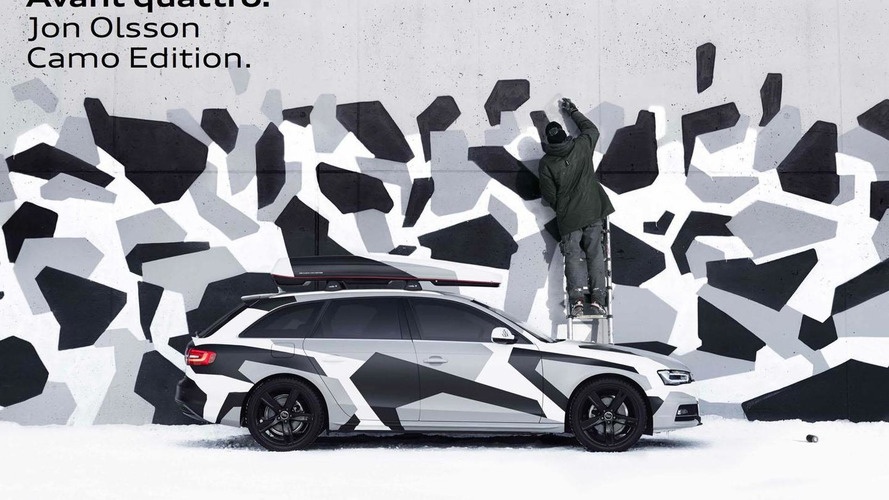 Audi A4 Avant Jon Olsson Camo Edition announced