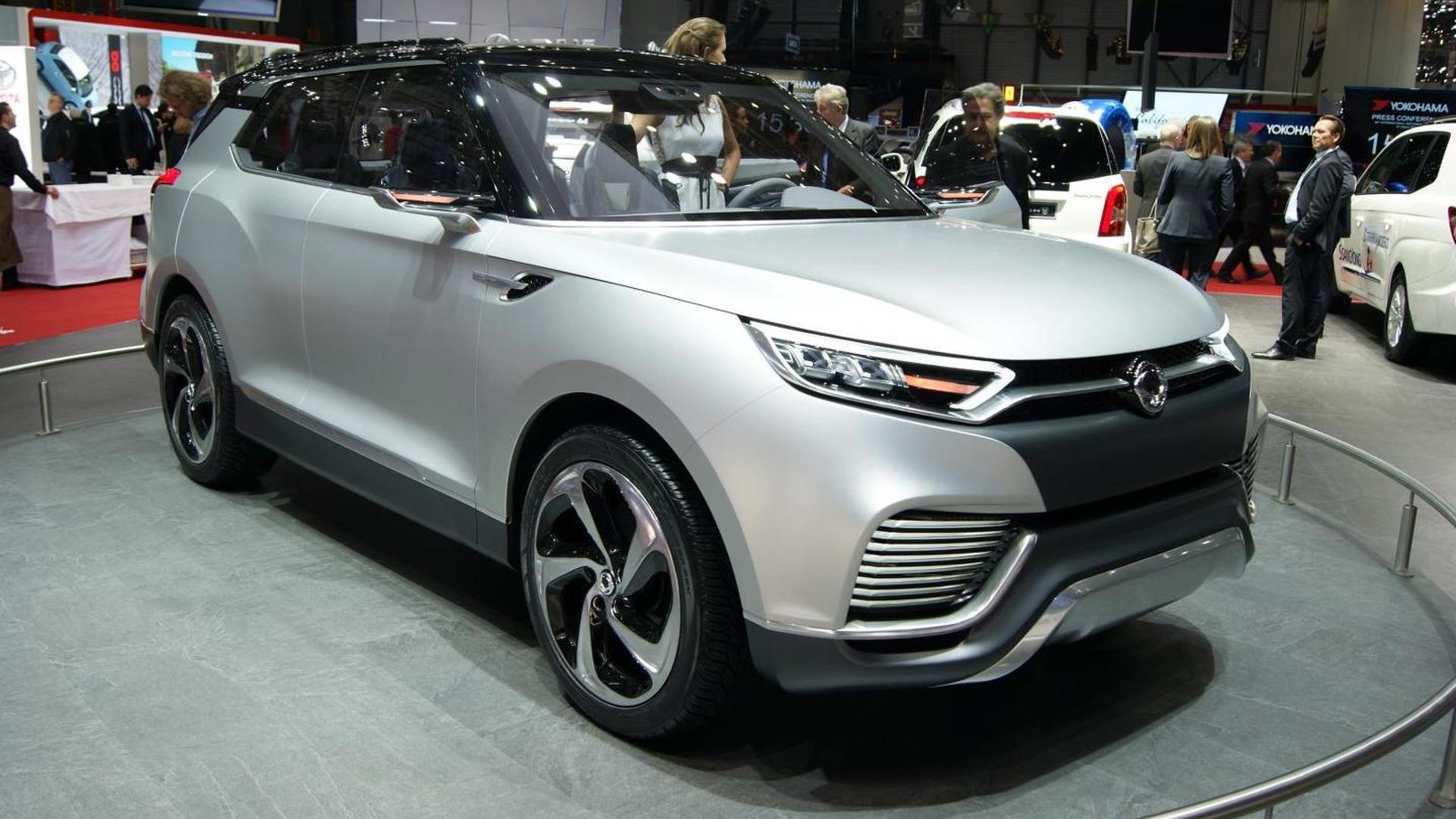 7 Passenger Vehicles >> Ssangyong Xlv To Underpin Future B Segment 7 Passenger Suv