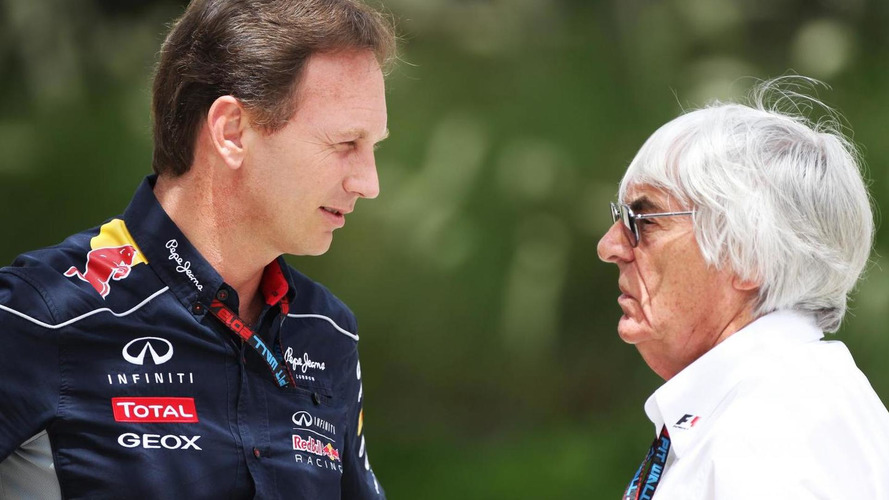 'No interest' in succeeding besieged Ecclestone - Horner