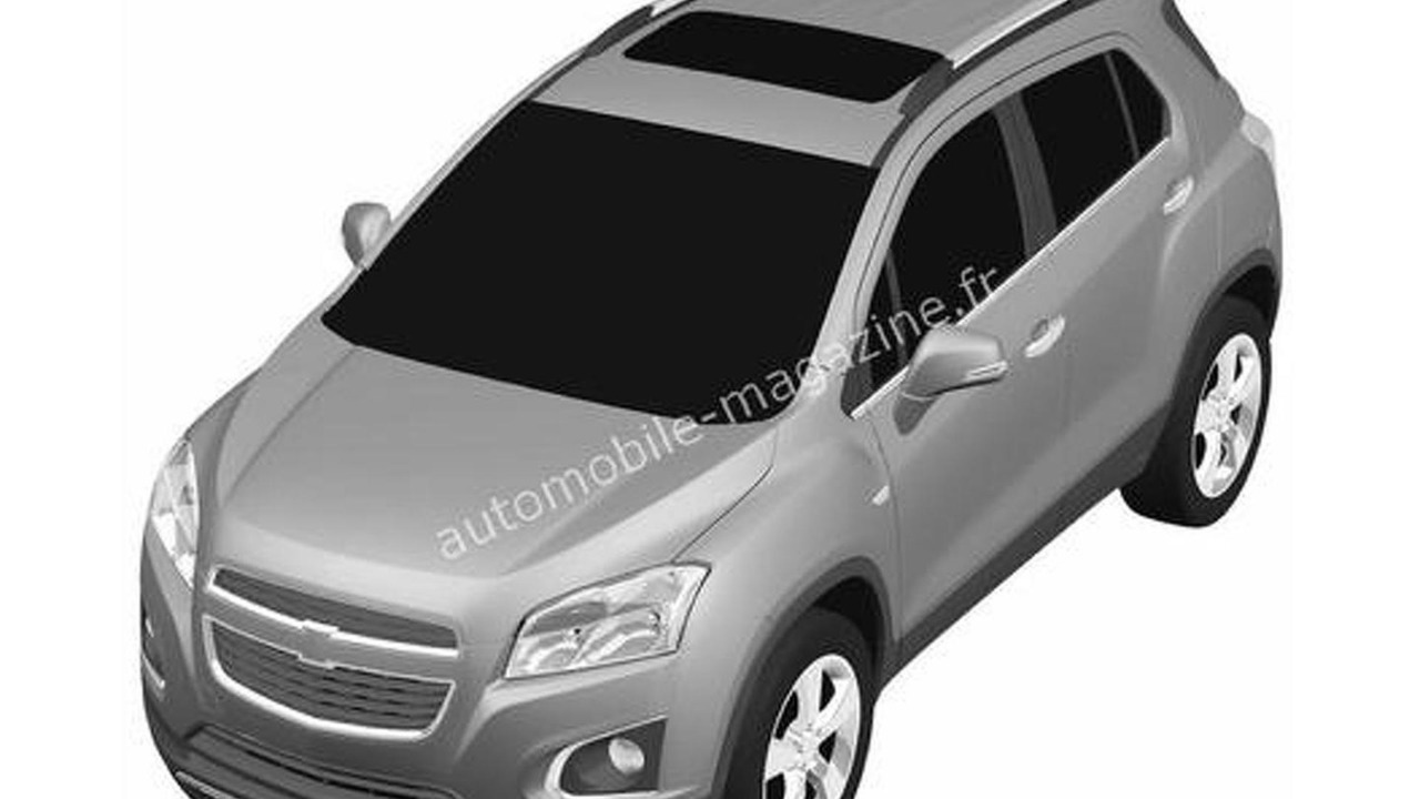 Entry-level Chevrolet Crossover patent photos 27.3.2012
