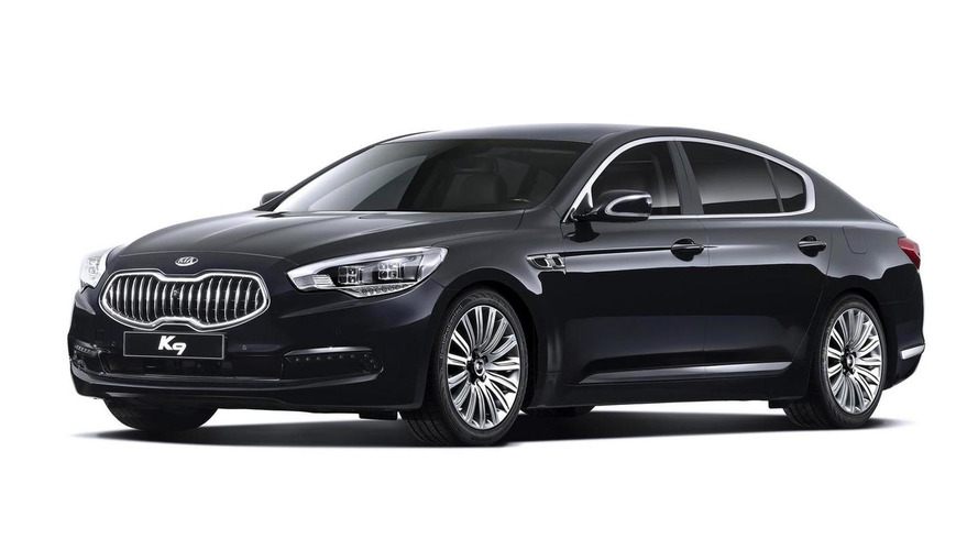 Kia K9 flagship sedan officially revealed