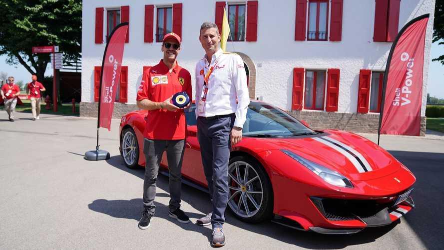 Ferrari'nin tavsiyesi: Shell V-Power