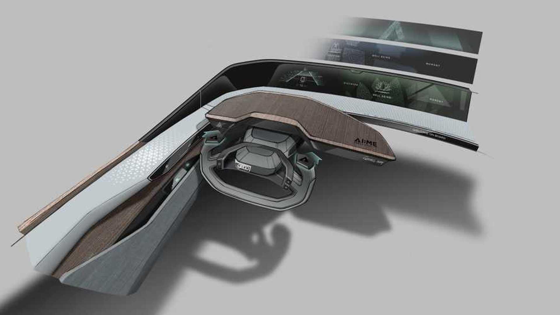 Audi показала предтечу городских электрокаров будущего