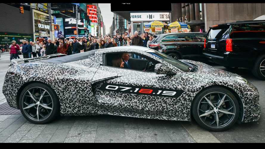 Mid-Engined C8 Chevrolet Corvette To Debut At Event In California