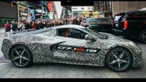 2020 C8 Chevrolet Corvette Announcement