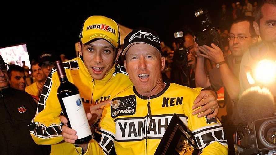 """Roberts: """"Rossi se ha mantenido porque no se ha lesionado mucho"""""""