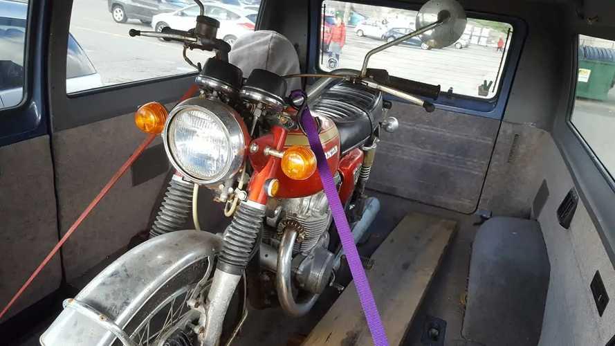 1971 Honda CB450 Restoration