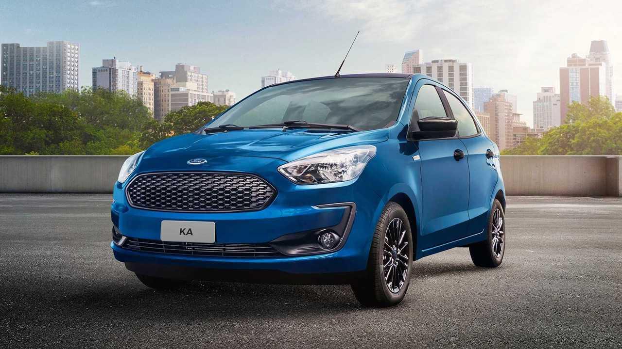 Ford EcoSport e Ka 100 anos