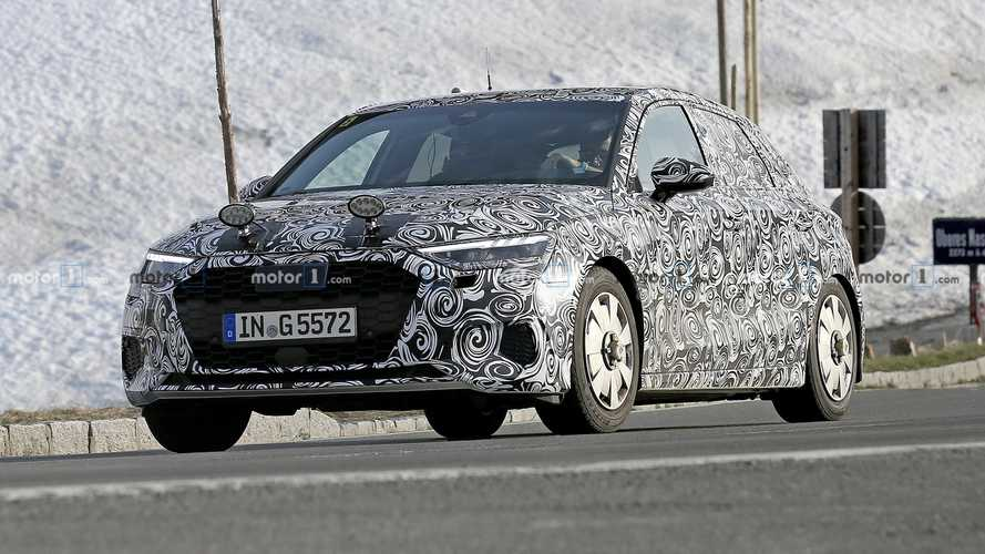 2020 Audi A3 Spied Testing Its Brakes On Mountain Roads