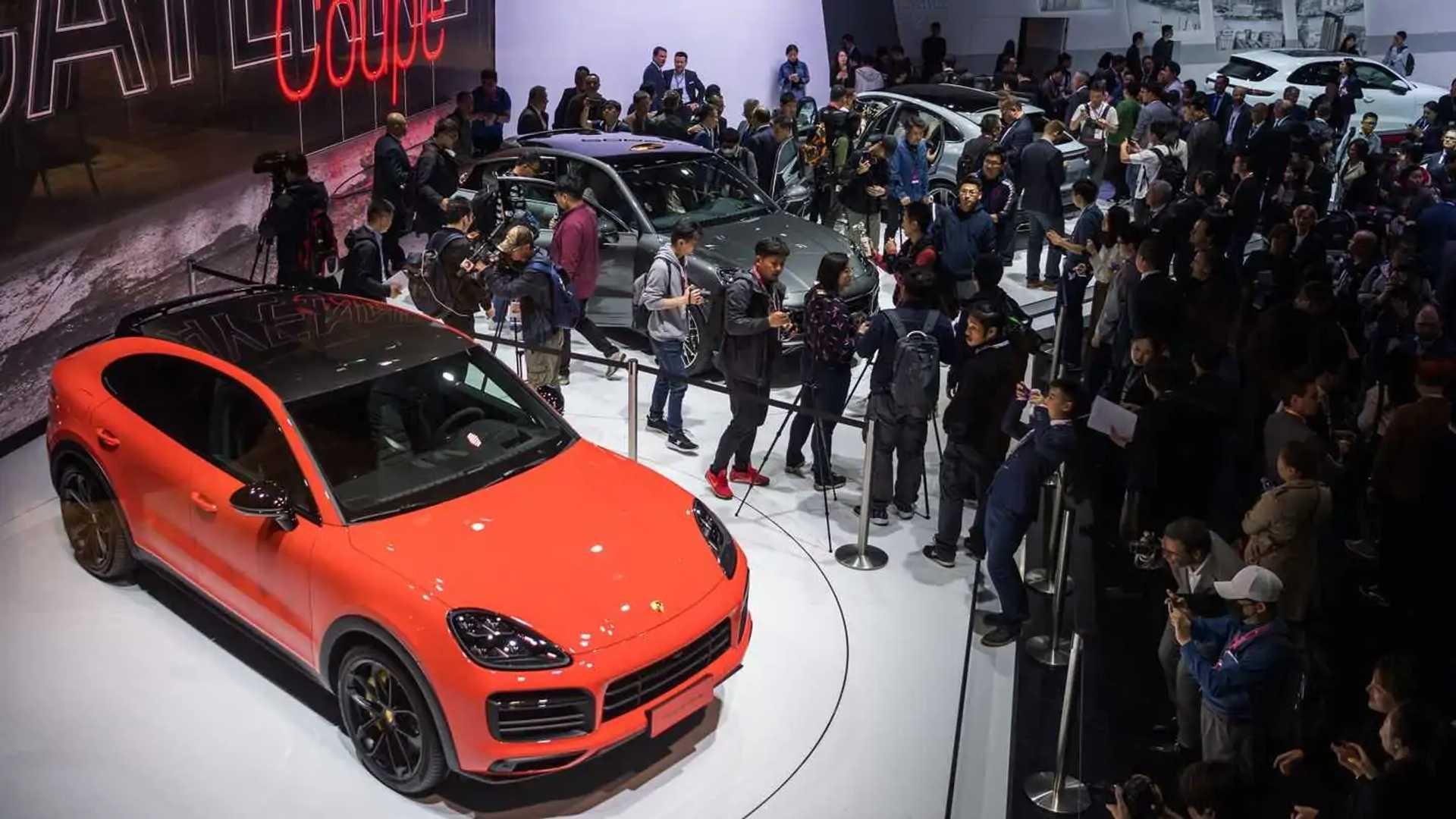 Porsche Cayenne Coupe at Auto Shanghai 2019