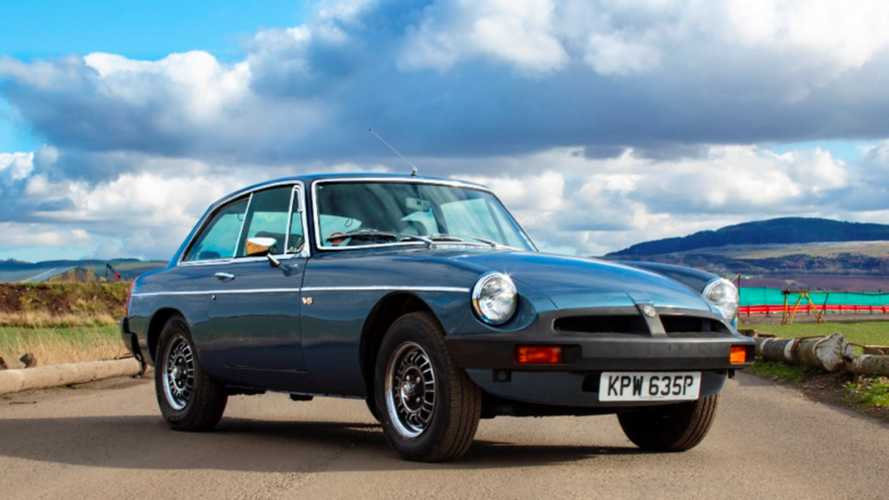 O...MG! Morris Leslie To Auction Away MG Sports Car Collection