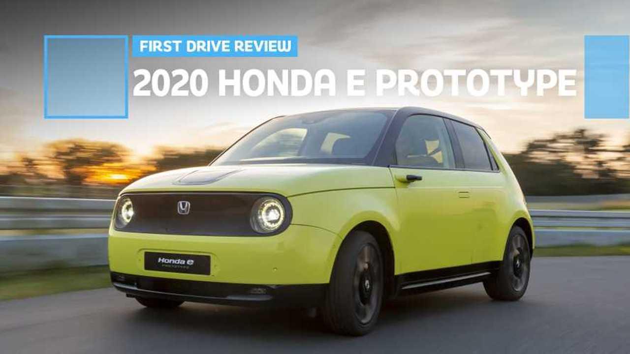 2020 Honda E Prototype Feature