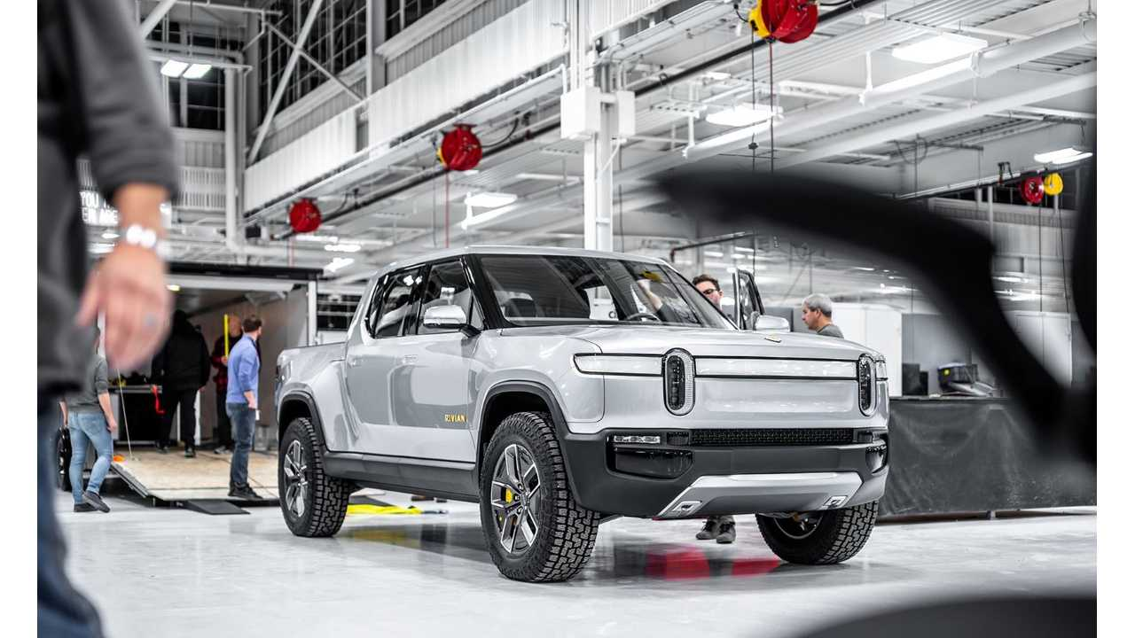 Rivian Releases New Images Of R1T Electric Truck In Factory & On NYC Streets